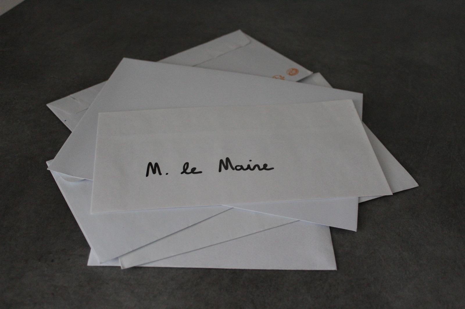 Lettre au Maire