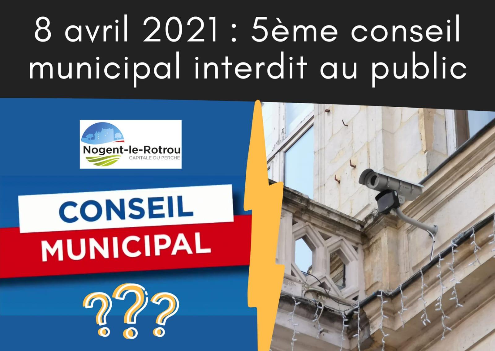 5ème Conseil municipal interdit au public